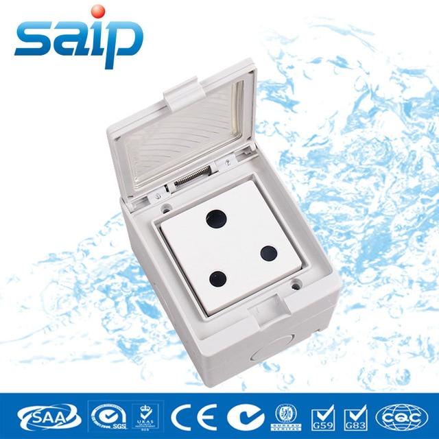 SP SA IP55 16A 250 V Badkamer Gebruik Waterdicht Stopcontact/Zuid ...