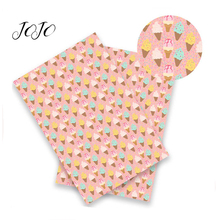 JOJO BOWS 22*30cm 1pc Faux Synthetic Leather Fabric For Craf