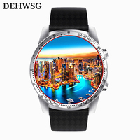 2017 Best Smart Watch Ram 512MB/Rom 8GB MTK6580 wearable devices Bluetooth Watchphone Android 5.1 3G Smartwatch for IOS Android