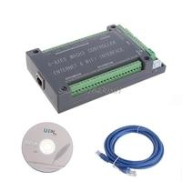 For MACH3 Ethernet Interface NVUM 6Axis CNC Controller 200KHz Board Card For Stepper Motor S08 Drop ship