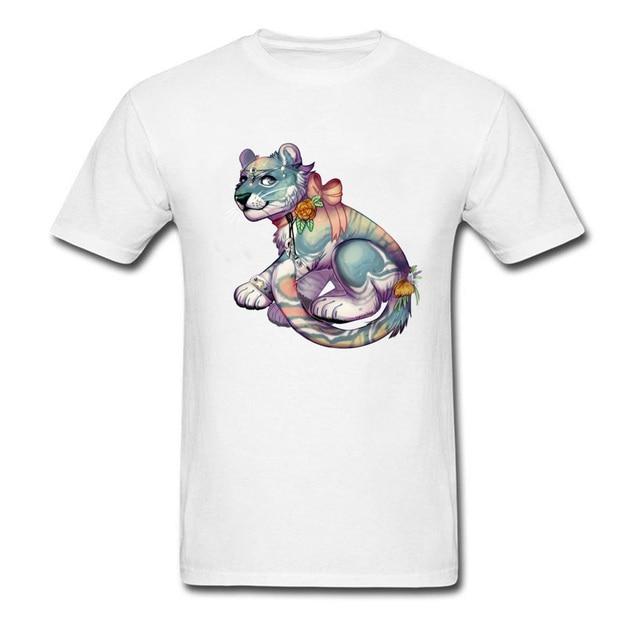 Projeto da arte Impressão Tshirt Para Homens Esfriar Camisa Marca de Moda T  3D Gráfico Floral 57b01464e7522