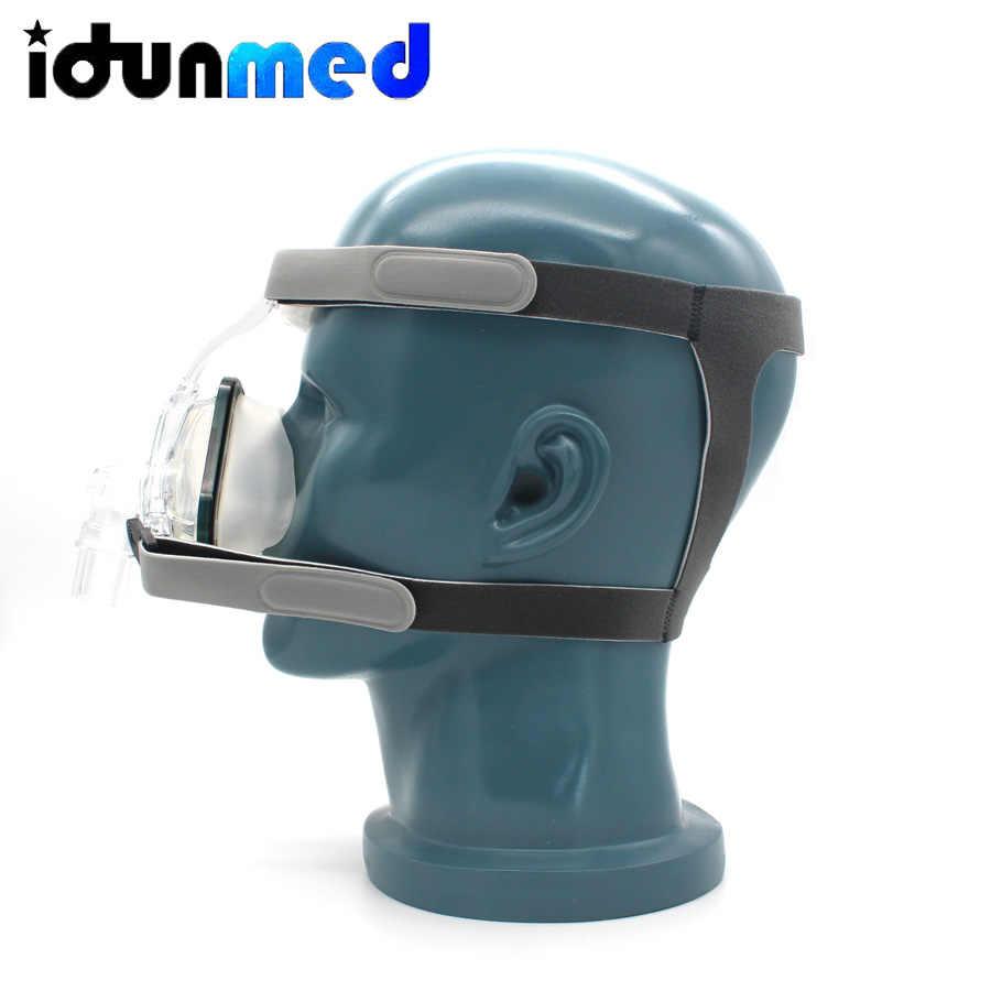 BMC CPAP Mask Nasal Mask Size S/M/L With Adjustable Headgear Strap Ventilator Respirator For Sleep Apnea Anti Snoring