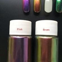 Сверкающий зеркальный блеск для ногтей порошок великолепный дизайн ногтей порошок хромового пигмента