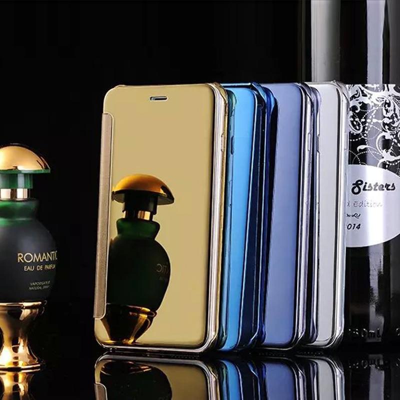 ᗗРоскошные Флип Зеркало <b>чехол</b> для iPhone 6 S ультра тонкий ...