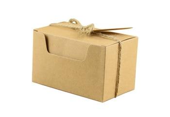 6*6*10CM kraft paper box, Gifts packing wedding gift box rectangle box handmade gift packing box for candy 100pcs/lot