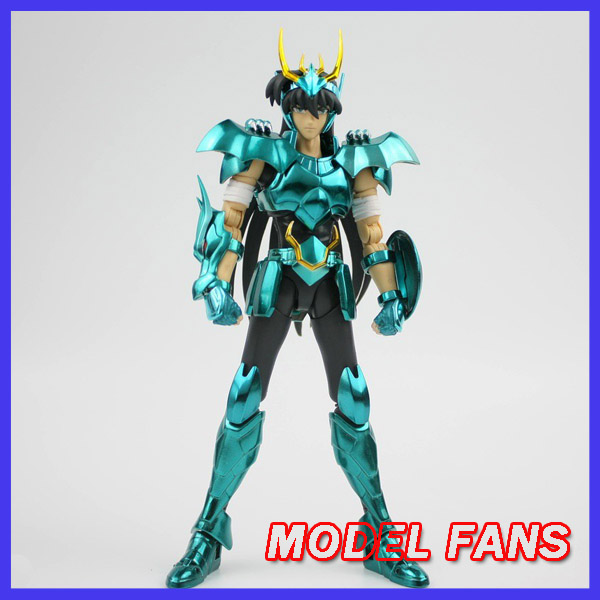 MODEL FANS IN STOCK GreatToys Great toys gt EX bronze Saint dragon Shiryu V3 metal armor Myth Cloth Action Figure-in Action & Toy Figures from Toys & Hobbies