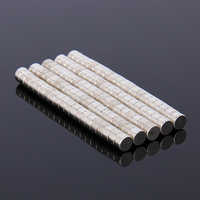 Hakkin 100Pcs Mini 5x3 mm N35 Rare Earth Neodymium Strong Magnet Mass Super Magnets New Arrival 5mm x 3mm 5*3mm