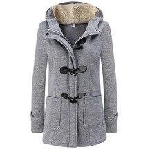 Parka Mujer invierno de 2018 largo grueso abrigos de algodón sólido Casual  con cremallera con capucha Mujer abrigo Plus tamaño c. a106315f55ba