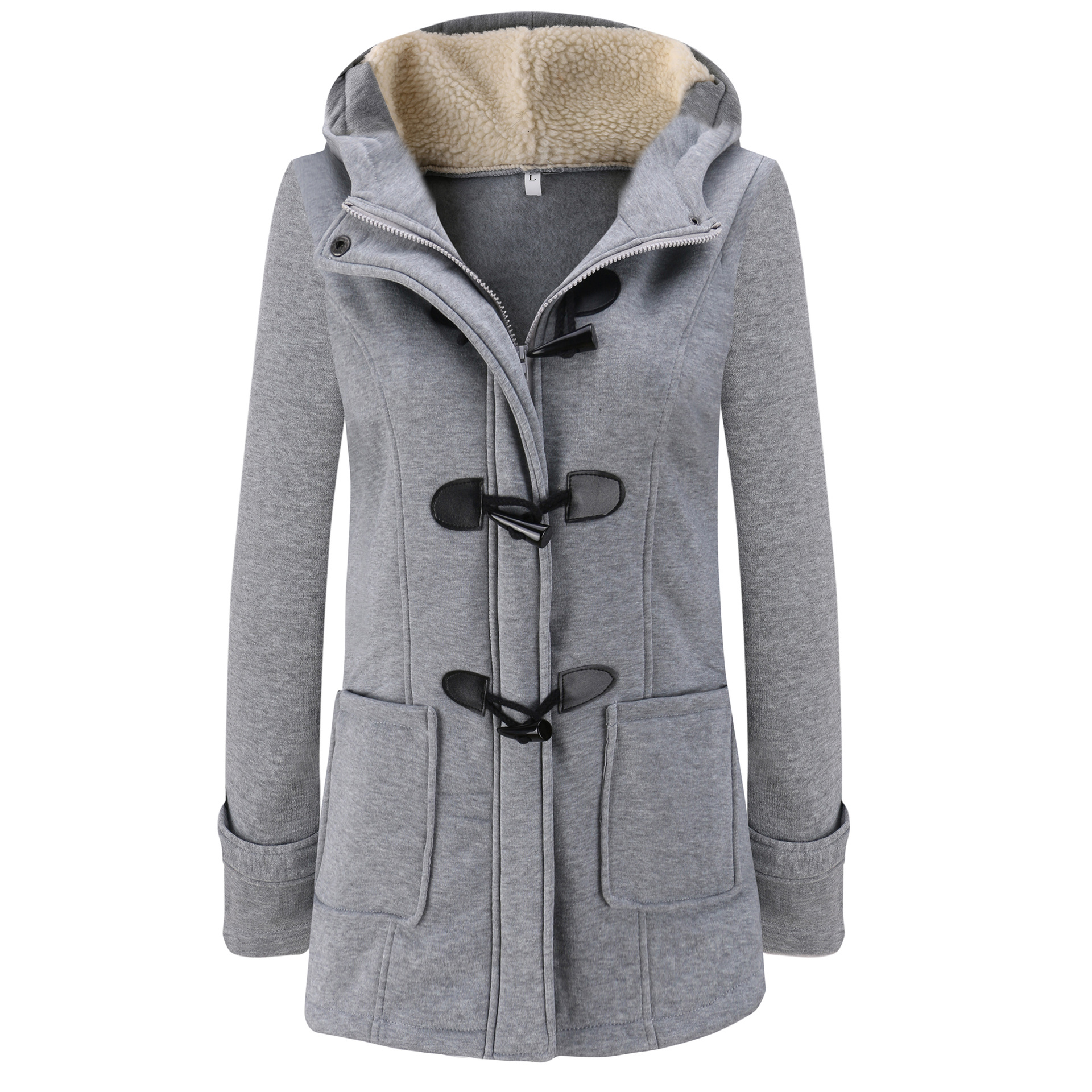 Women   Parka   2019 Winter Long Thick Coats Cotton Solid Zipper Casual Female Hooded Warm Outwear Plus Size Jacket Mujer