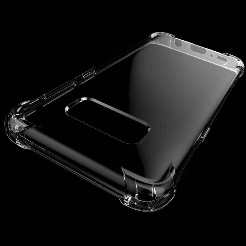 Şeffaf şeffaf TPU A50 A30 A70 A60 A80 A90 samsung kılıfı Galaxy S8 S9 S10 Artı S7 S6 Kenar M30 M20 a7 A8 A9 yumuşak arka kapak