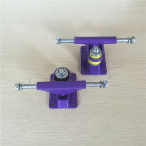 Image 3 - FISHBOARD Parts 3.25 inch peny board Trucks made by Aluminum with many color and good quality Trucks De Skate