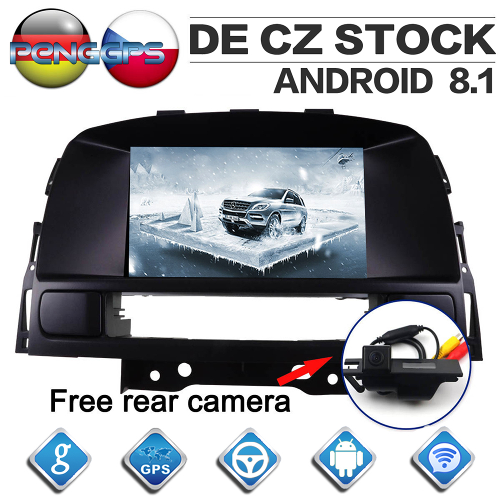 7 Inch IPS Screen Android 8 1 Car Radio for Opel Vauxhall Holden Astra J 2010