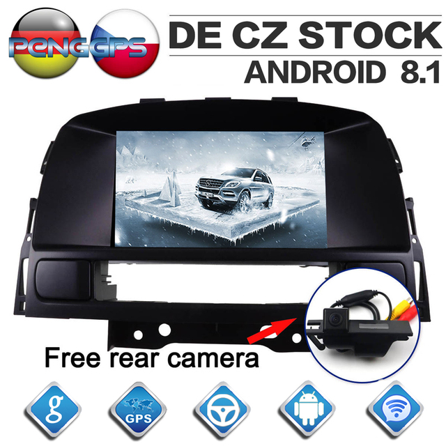 7 Inch IPS Screen Android 8.1 Car Radio for Opel Vauxhall Holden Astra J 2010-2013 GPS Navigation CD DVD Player 2 Din Headunit