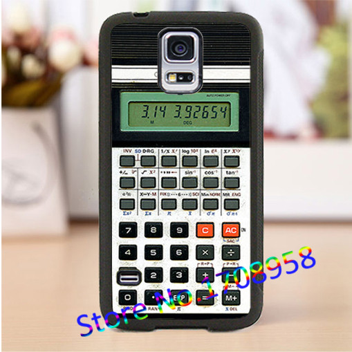 Retro font b Calculator b font cell phone cover case for Samsung Galaxy S3 S4 S5
