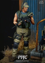 Resin  Figure 1/35 Model  Of Western Private Mercenary Company  Soldier Model Figure Kit GC35003 стоимость
