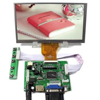 VGA HDMI AV ACC LCD Controller Board 6.5inch LCD Screen 800x480 AT065TN14