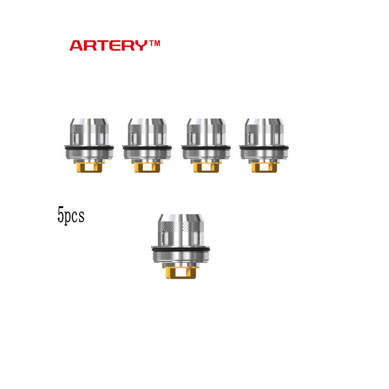 2019 Original 5pcs Artery Hive S Tank Coil 0.3ohm Head Coil for Artery Hive S Tank and Artery Baton Kit E cig Vape Coil Head