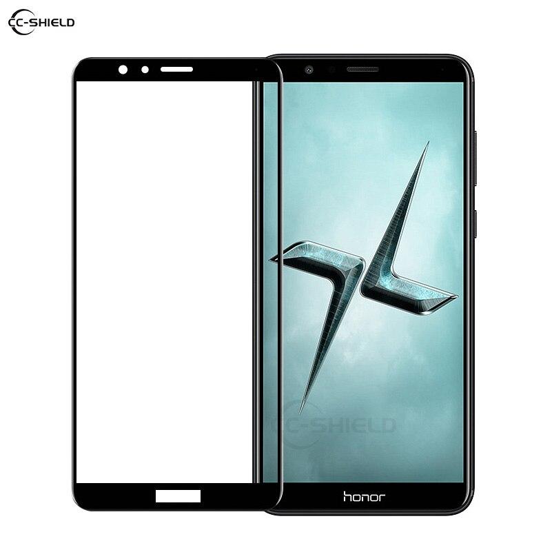 Galleria fotografica Copertura completa di Vetro per Huawei <font><b>Honor</b></font> <font><b>7X</b></font> X7 BND-L21 BND L21 L24 Pellicola Della Protezione Dello Schermo per Huawei <font><b>Honor</b></font> 7 X honor7X In Vetro Temperato