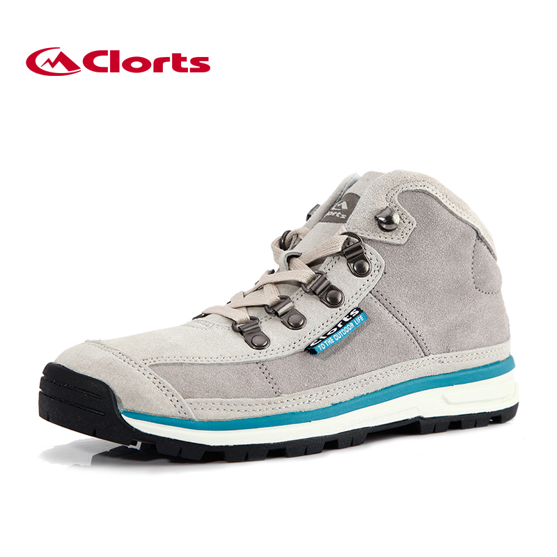 Clorts Women Walking Shoes Canvas Shoes Mid Cut Lightweight Outdoor Sports Shoes Breathable Outdoor Sneakers 3G025C new natural raccoon fur pompom hat thick winter for women cap beanie hats knitted cashmere wool caps female skullies beanies