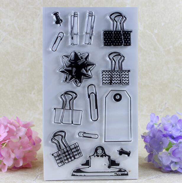 Scrapbook DIY Photo Album Card Rubber Chapter Transparent Seal bag clip Clear Stamp 58 scrapbook diy photo album card hand account rubber seal product seal transparent seal stamp cat