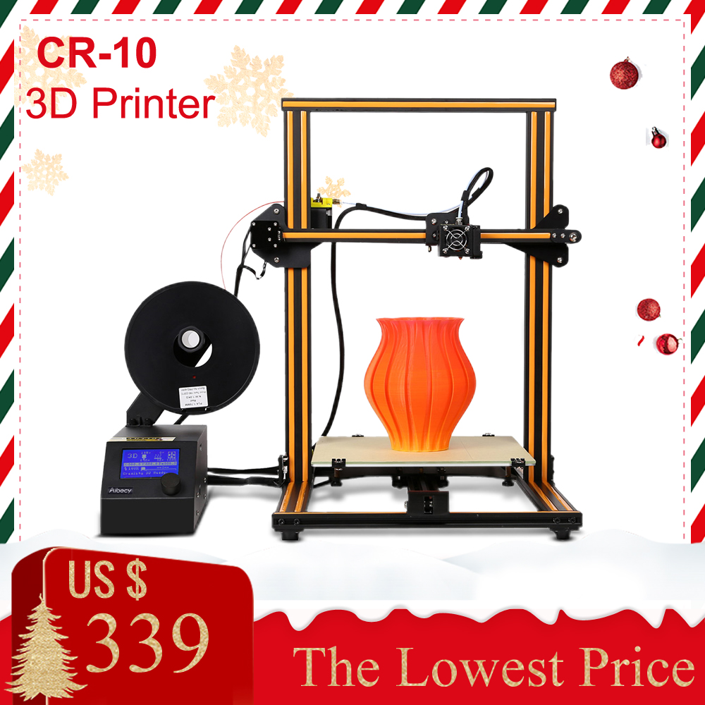 3D Printer CR 10 CR 10S CR 10S4 Self assembly 3D DIY Printer Kits with Aluminum