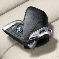 For BMW Genuine Key Holder Fob Leather Case Luxury Black Blue Red F15 X5