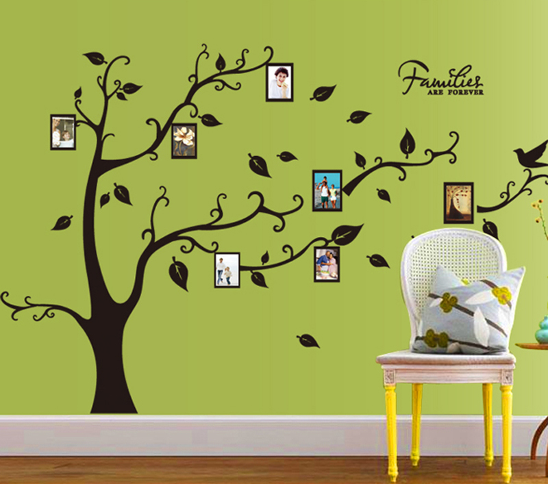 1pcs Photo Family Tree Wall Sticker Decal Baby Bedroom Living Room ...
