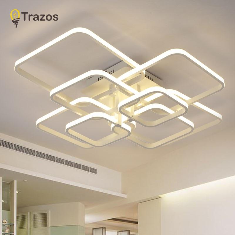 Trazos 2019 Rechteck Acryl Aluminium moderne LED Deckenleuchten für - Innenbeleuchtung - Foto 6