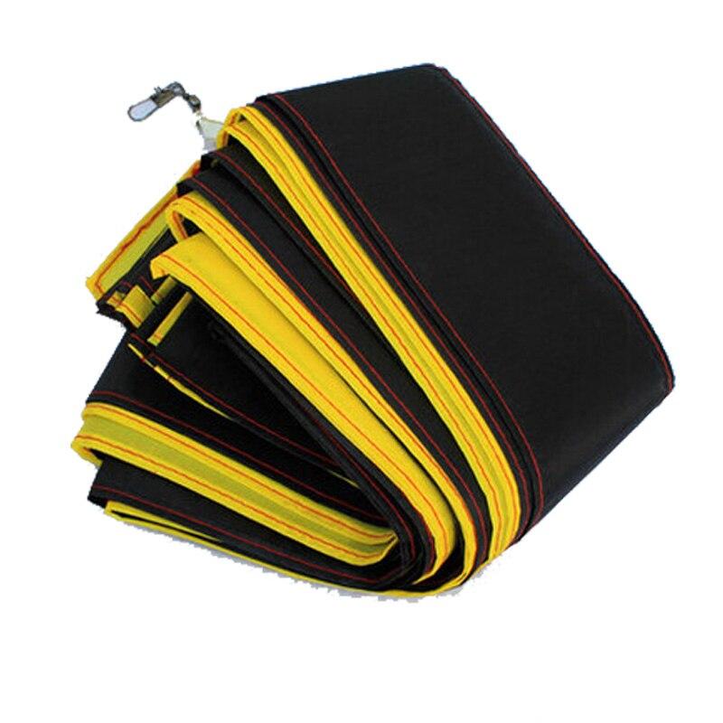 Livraison Gratuite En Plein Air Fun Sport Cerf-Volant Accessoires/30 m Jaune avec Noir Queue Pour Delta kite/Stunt/logiciel cerfs-volants Enfants Gif