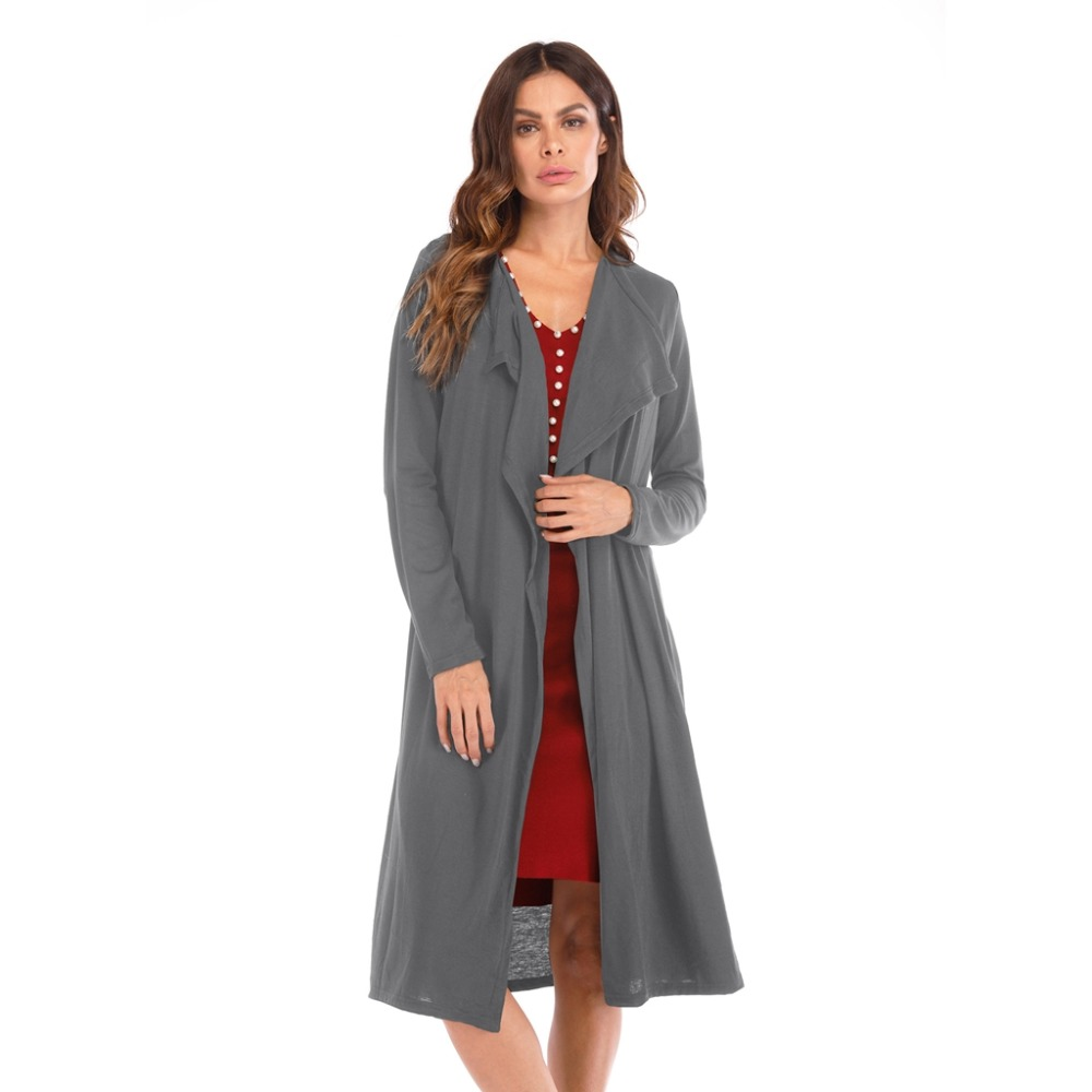 Fashion Women Winter Warm cotton Lapel   Trench   Coat Slim Outwear Overcoat