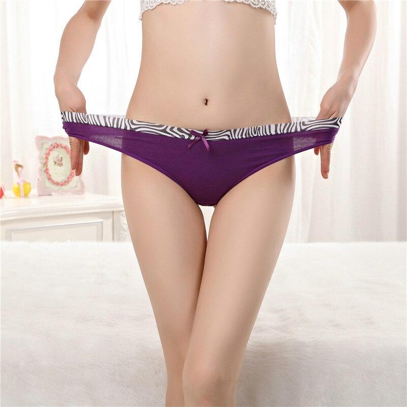Buy Ixuejie 6pcs/lot Fashion Cotton Briefs Women Sexy G String Lace Panties Comfortable T Back Underwear Cute Pants