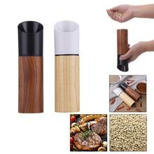 Küche werkzeuge arbeiten gut mühle Hand Shaker Bewegung holz Paprika grinder Pfeffer Salz Maismühle