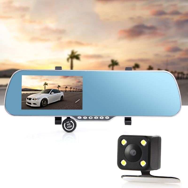5 8GB FM WIFI CAR GPS NAVIGATOR NAVIGATION SYSTEM DVR + REAR VIEW Android 4.4