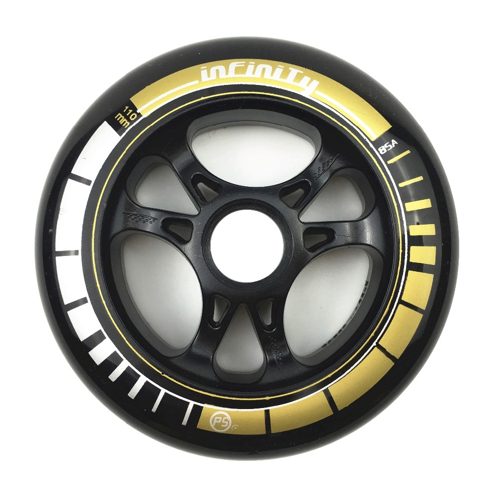 Image 5 - Frame & 85A Wheels & Bearings 3 * 100 / 110 mm Base for Inline Skates for Slalom Slide Skating for Adult Kids Skates Basin DJ49-in Scooter Parts & Accessories from Sports & Entertainment