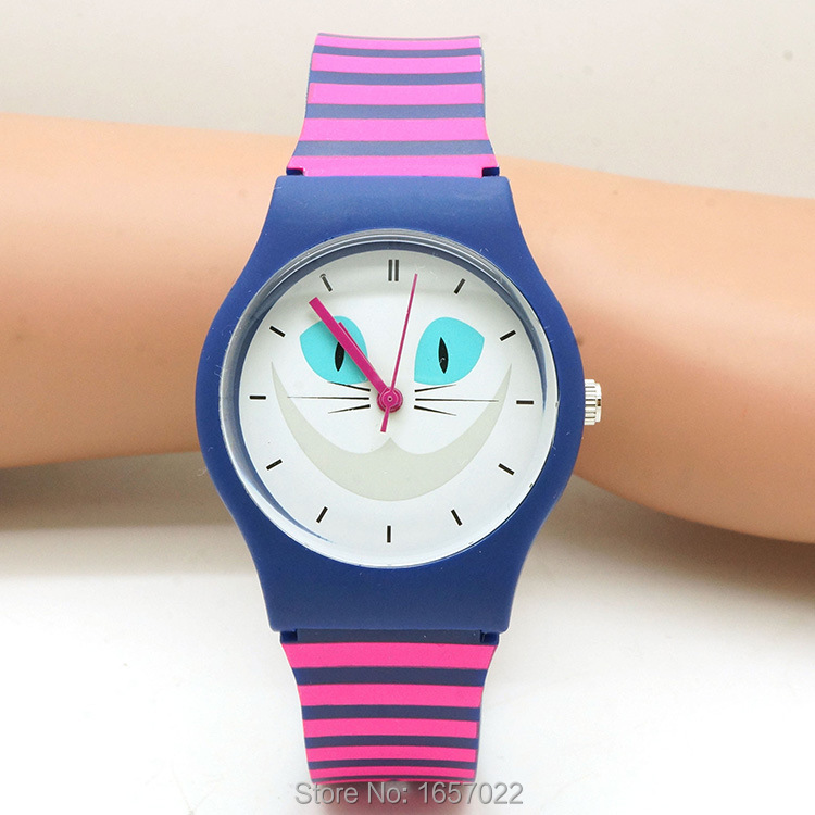 Top Luxury Hotime Brand Women Man Fashion Smiling Watch Dial Wristwatch Waterproof For Children Dress Gift Watches