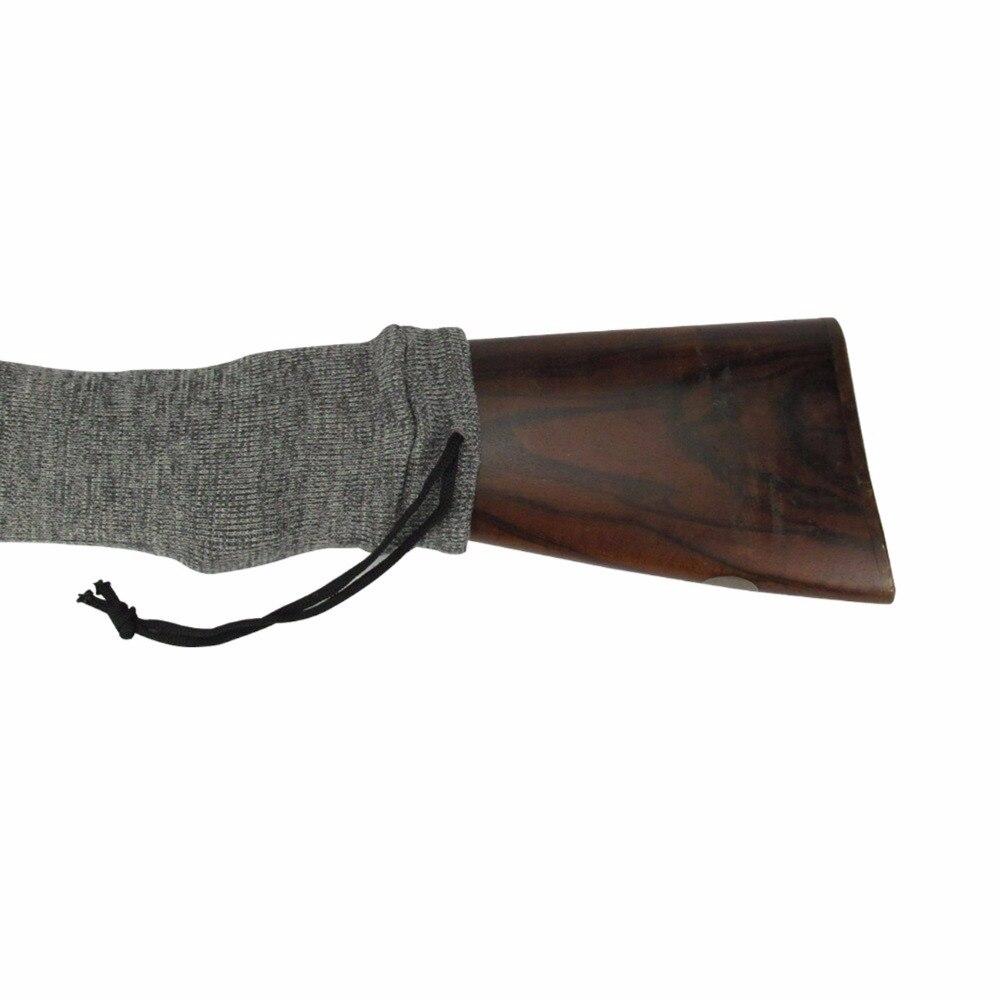 Tourbon Tactical Rifle Gris de Punto Calcetín Escopeta Arma Cubierta Protector p