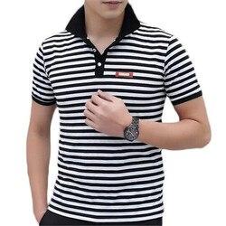 Fashion brand clothing men polo shirt stripe polo homme cotton fitness shirts top zmf789521.jpg 250x250