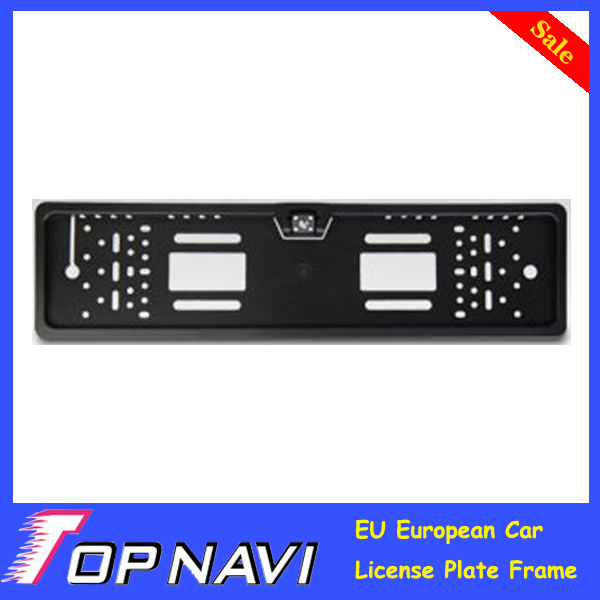 EU European Car License Plate Frame Size Rear View Rearview Camera Universal CCD