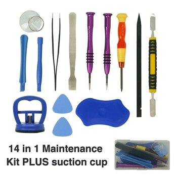 цена на Mobile Phone Repair Tools 14pcs set Kit Spudger Pry Opening Tool Screwdriver Set for iPhone Samsung Phone Hand Tools Set