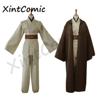 Movie Star Wars Jedi Knight Cosplay Halloween Christmas Costumes Suit Belt Cummerbunds Girdle Cloak