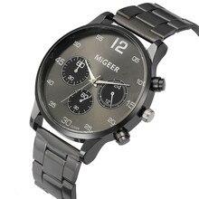 Quartz Watch Men's Stainless Steel