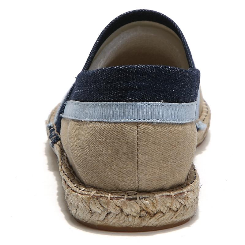 Slip caqui Hombres 2018 Lona Zapatos Transpirable Espadrilles De Soft Hombre Mens Azul Casual Moda rojo On Oudiniao Zapatillas Remiendo nxP1RU0w