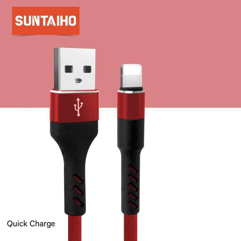 Suntaiho USB Type C Cable for Xiaomi Mi Max 3 for Samsung S9 USB Cable for iPhone Micro usb Charging Cable 1m for IOS Android