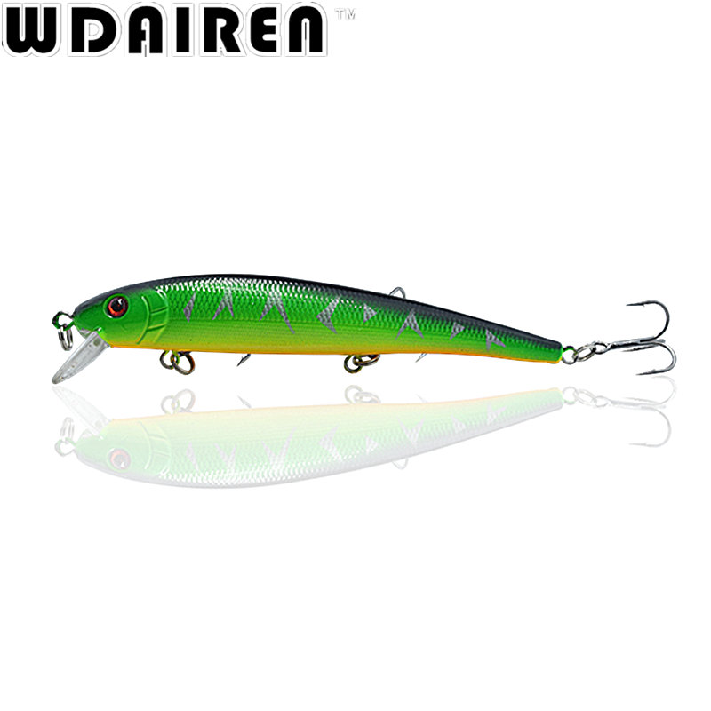 Hot sale 1Pcs 13cm 19.5g Minnow fishing Lure Fish Wobbler Tackle Crankbait Artificial Japan Hard Bait Swim bait 1# Hook NE-203 5pcs hard plastic fishing lure wobbler minnow squid tentacle diving trolling bait 14cm 40g hook size 1 0 free shipping