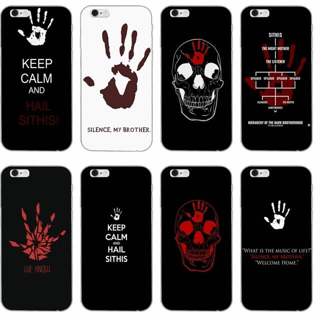 Skyrim Dark Brotherhood Silicone Tpu Soft Phone Case For Samsung