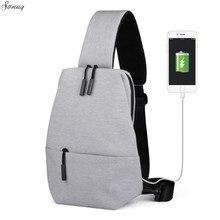 Для мужчин путешествия груди пакет один рюкзак Англия груди Сумки сумка Креста тела Внешний USB зарядки рюкзак Для женщин чемоданчик