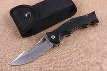 New Cold Steel Tactical Folding Knife 440C Blade G10 Handle Outdoor Camping Hunting Knife Survival Pocket Knives EDC Hand Tools