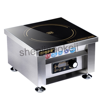 Hss 605g High Power Commercial Induction Cooker 6000w 11 Gear Household Business Electromagnetic Furnace Cooking Heat Food 1pc