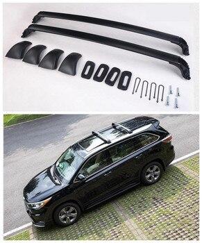 Pour Toyota Highlander 2015.2016.2017 Porte-bagages Auto Porte-bagages De Haute Qualité Tout Nouveau Porte-bagages En Aluminium Accessoire De Voiture