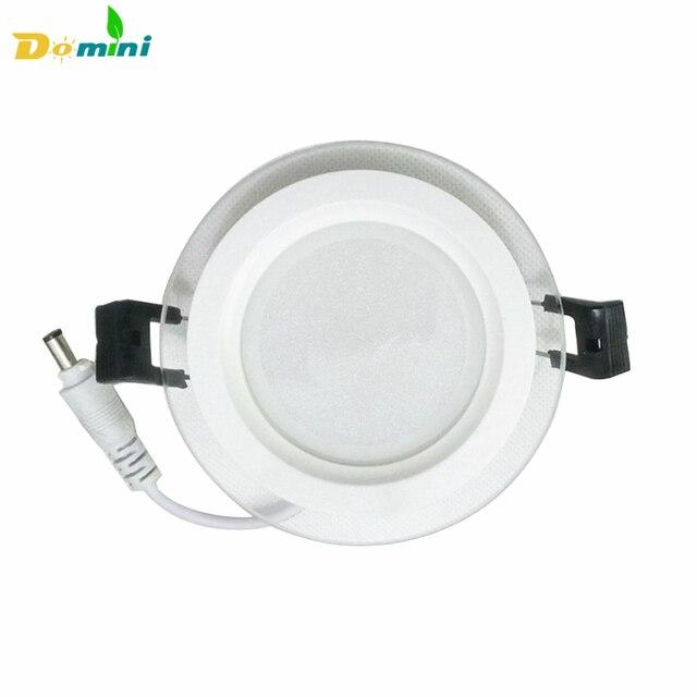 Innen Dimmbare LED Downlight Panel Runde Glas Panel Lichter 6W12W18W ...